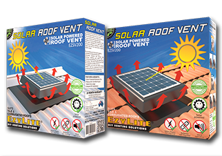 The EzyLite Solar Roof Vent Is The Superior Roof Venting Solution.